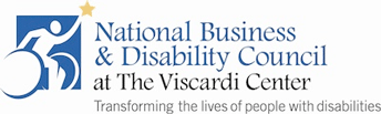 Logo: National Business and Disability Council, The Viscardi Center