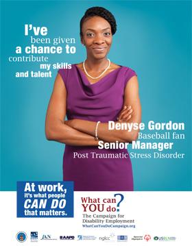 """Who I Am"" Poster - Denyse Gordon"