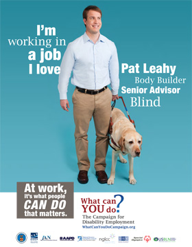 """Who I Am"" Poster - Pat Leahy"