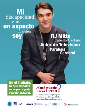 """Who I Am"" Poster -RJ Mitte [SPANISH]"