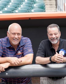 "Photo: ""Working Works"" - Cal Ripken, Jr. and Richie Bancells"
